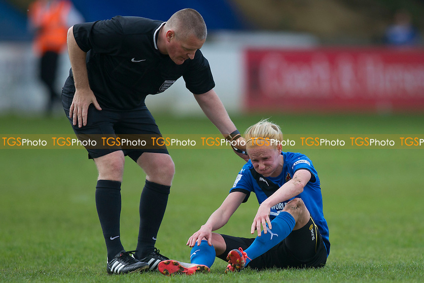 Jodie Michalska (Sheff W) during Sheffield FC Ladies vs Bristol City Women, FA Women's Super League FA WSL2 Football at the Coach and Horses Ground on 22nd May 2016