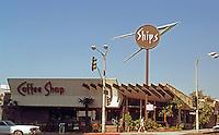 Googies: Ships Coffee Shop, Wilshire Blvd., Westwood, 1958. Martin Stern, Jr. (Demolished 1984)