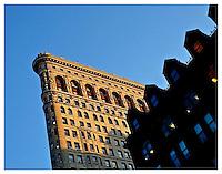 NEW YORK, NY - JANUARY 25: Flatiron and 23rd Street in winter on January 25, 2012 in New York, New York. Photo Credit: Thomas R. Pryor