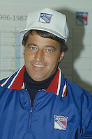 Montreal (Qc) CANADA - 1988 File photo  - Michel Bergeron, NY Rangers coach