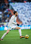 Gareth Bale of Real Madrid in action during the La Liga 2017-18 match between Real Madrid and RC Deportivo La Coruna at Santiago Bernabeu Stadium on January 21 2018 in Madrid, Spain. Photo by Diego Gonzalez / Power Sport Images