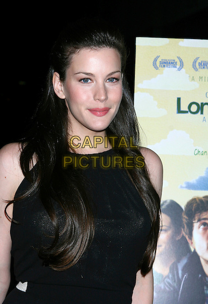 "LIV TYLER.""Lonesome Jim"" New York Screening at Clearview Chelsea West, New York City, NY, USA..March 21st, 2006.Ref: IW.headshot portrait .www.capitalpictures.com.sales@capitalpictures.com.©Capital Pictures"