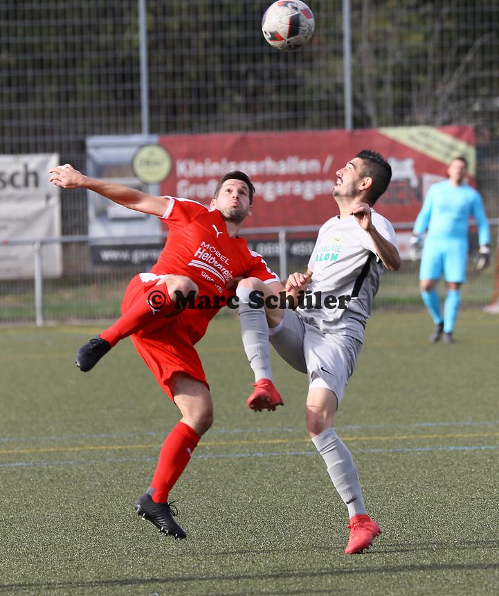 Thorben Deusser (Büttelborn) gegen Xhino Dushaj (Bürstadt) - Büttelborn 03.10.2018: SKV Büttelborn vs. SV Bürstadt