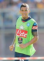 Allan<br /> ritiro precampionato Napoli Calcio a  Dimaro 27Luglio 2015<br /> <br /> Preseason summer training of Italy soccer team  SSC Napoli  in Dimaro Italy July 11, 2015