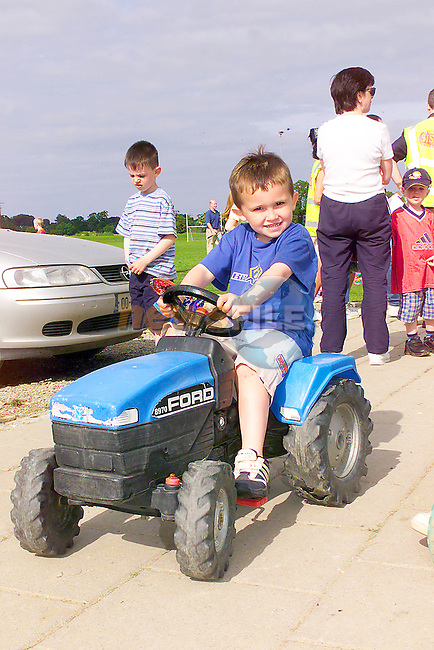 Sam McGrain at the fun day in Beleau.Photo Fran Caffrey/Newsfile.ie..This picture has been sent to you by:.Newsfile Ltd,.3 The View,.Millmount Abbey,.Drogheda,.Co Meath..Ireland..Tel: +353-41-9871240.Fax: +353-41-9871260.GSM: +353-86-2500958.ISDN: +353-41-9871010.IP: 193.120.102.198.www.newsfile.ie..email: pictures@newsfile.ie..This picture has been sent by Fran Caffrey.francaffrey@newsfile.ie