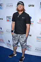 Justin Turner<br /> at Clayton Kershaw's Ping Pong 4 Purpose Celebrity Tournament to Benefit Kershaw's Challenge, Dodger Stadium, Los Angeles, CA 08-11-16<br /> David Edwards/MediaPunch