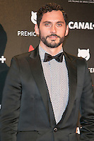 Paco Leon attends the Feroz Cinema Awards 2015 at Las Ventas, Madrid,  Spain. January 25, 2015.(ALTERPHOTOS/)Carlos Dafonte) /NortePhoto<br /> <br /> nortePhoto.com