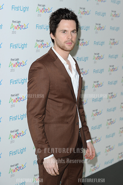 Tom Riley arriving for the First Light Movie Awards 2013 at the Odeon Leicester Square, London. 19/03/2013 Picture by: Steve Vas / Featureflash