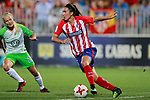 Atletico de Madrid's Jucimara Thais Soares Paz during UEFA Womens Champions League 2017/2018, 1/16 Final, 1st match. October 4,2017. (ALTERPHOTOS/Acero)
