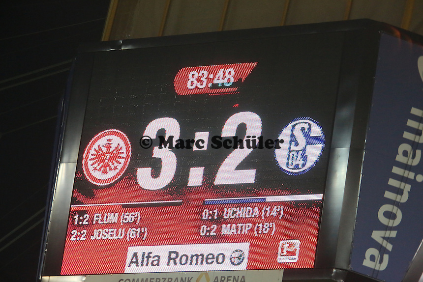 3:2 in der 84. Minute - Eintracht Frankfurt vs. FC Schalke 04, Commerzbank Arena