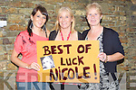 SHOWING: Caroline Flynn,mary Ellen Flyn and Agnes Knightly (Castlegregory) who showed their support for Nicole Flynn at the Kerry Got Talent 2010 competition in conjuction with Radio Kerry, on Sunday evening in Siamsa Tire...v