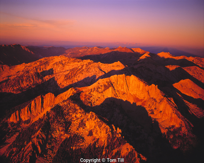 Lone Peak Wilderness, Wasatch Mountains, Utah Wasatch/Cache National Forest