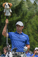 Rory McIlroy (NIR) pulls his driver from his bag on the 4th tee during 4th round of the World Golf Championships - Bridgestone Invitational, at the Firestone Country Club, Akron, Ohio. 8/5/2018.<br /> Picture: Golffile | Ken Murray<br /> <br /> <br /> All photo usage must carry mandatory copyright credit (© Golffile | Ken Murray)