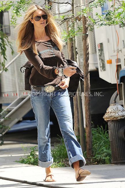 WWW.ACEPIXS.COM . . . . . ....August 11 2009, New York City....Model Elle Macpherson was on the downtown Manhattan set of the new TV show 'The Beautiful Life' on August 11 2009 in New York City....Please byline: KRISTIN CALLAHAN - ACEPIXS.COM.. . . . . . ..Ace Pictures, Inc:  ..tel: (212) 243 8787 or (646) 769 0430..e-mail: info@acepixs.com..web: http://www.acepixs.com