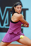 Caroline Garcia, Francia, during Madrid Open Tennis 2016 match.May, 3, 2016.(ALTERPHOTOS/Acero)