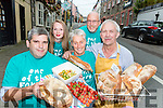 Pa Browne, Vita Jakelyte, Kathryn Shaw, Philip Shaw and Jack Healy who are inviting you to visit the Flavours of Killorglin festival this weekend
