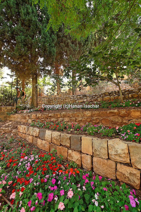 Israel, the Upper Galilee. Gan Habaron in Rosh Pina