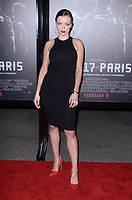 "LOS ANGELES - FEB 5:  Francesca Eastwood at the ""The 15:17 To Paris"" World Premiere at the Warner Brothers Studio on February 5, 2018 in Burbank, CA"