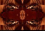 Fractal Orchid, Fractal Composite, Upper Antelope Canyon, Tse-Bighanilini, Slot Canyon, Lake Powell Navajo Tribal Park, Page, Arizona