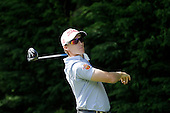 Jordi Garcia Pinto (ESP) during round 2 of the 2015 BMW PGA Championship over the West Course at Wentworth, Virgina Water, London. 22/05/2015<br /> Picture Fran Caffrey, www.golffile.ie: