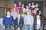 WIND: Enercon staff had a nightn off to celebrate Christmas by having their annual Christmas party in The Carlton Hotel, Tralee on Friday night. Front l-r: Ross McEvoy, Diarmuid McAuliffee,Brian cahill and Ciara?n Hughes.2nd row l-r: Tony Curtin, Colin Dempsey and William Coughlan. Back L-r: Padraig Lancaster, Bernard Ward, Michael McAuliffe, Jamie Cullen, Kevin Landers,Pat McMahon and Enda Gallagher.. . ............................... ..........