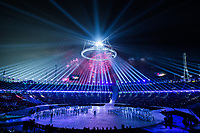 PYEONGCHANG,SOUTH KOREA,09.FEB.18 - OLYMPICS - Olympic Winter Games PyeongChang 2018, official opening ceremony. Image shows firework. Photo: GEPA pictures/ Joel Marklund / Copyright : Explorer-media