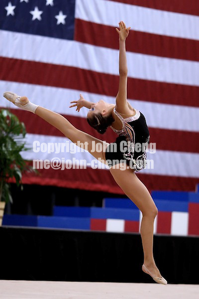 Photo by John Cheng - VISA Championships 2007 in San Jose, CA.Zverinskaya