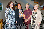 Laura Collins (Miltown), Antonette O'Mahoney, Kathleen Rice and Mary Looney from Killarney supporting the Adapt Fashion Show in Ballyroe Heights Hotel on Friday night.