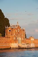 Cimitero, Isand of San Michele, Venetian Lagoon, Italy