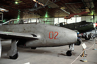 - air museum of Cracovia  (Poland), JAK 23 airplane(URSS, 1947)....- museo dell' aeronautica di Cracovia (Polonia), aereo YAK 23  (URSS, 1947)