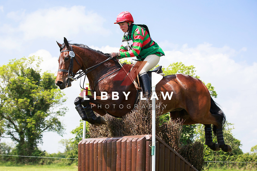 IRL-Lesley Webb (KILPATRICK LORD) LAND ROVER CCI1* CROSS COUNTRY: 2016 IRL-Tattersalls International Horse Trial (Friday 3 June) CREDIT: Libby Law COPYRIGHT: LIBBY LAW PHOTOGRAPHY