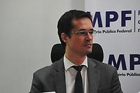 Curitiba (PR), 10/03/202 - Procurador Deltan Dallagnol. O Mnisterio Publico Federal (MPF) realiza coletiva de imprensa para mostrar o resultado apos seis anos da forca-tarefa da Lava Jato nesta terca-feira(10) em Curitiba. (Foto: Ernani Ogata/Codigo 19/Codigo 19)