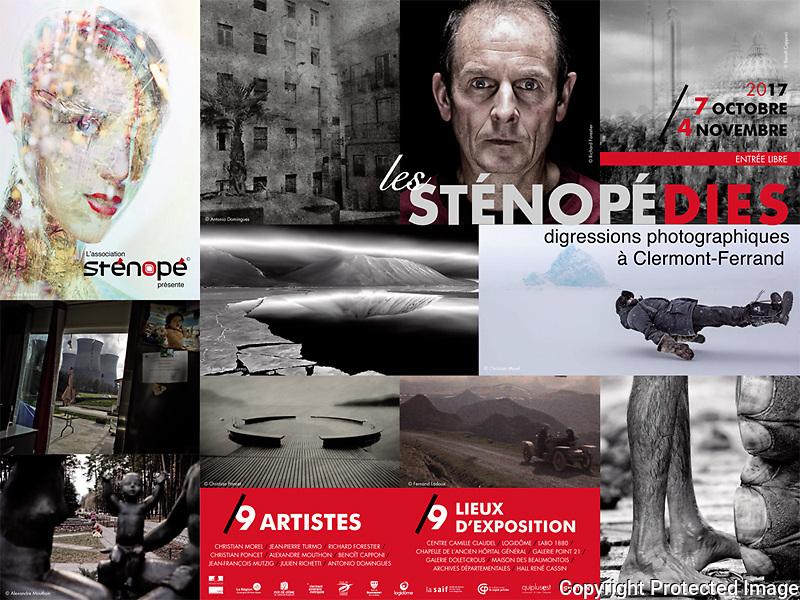 Biennale de la photographie de Clermont-Ferrand : Les St&eacute;nop&eacute;dies.<br /> Le projet &quot;Fen&ecirc;tre avec vue&quot; sera expos&eacute;.