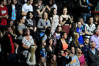 The crowd dancing during the Ryder Cup Gala Concert 2014 at SSE Hydro on Wednesday 24th September 2014.<br /> Picture:  Thos Caffrey / www.golffile.ie