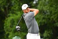 US Open Championship Brooks Kopka tees off on the par 4 12th hole during 2nd round action of the 2018 Travelers Championship Friday, June 22, 2018
