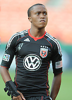 DC United midfielder Thabiso Khumalo (17) DC United defeated Real Salt Lake 2-1 to advance to the round of 16 of the  U.S. Open Cup at RFK Stadium, Wednesday  June 2  2010.
