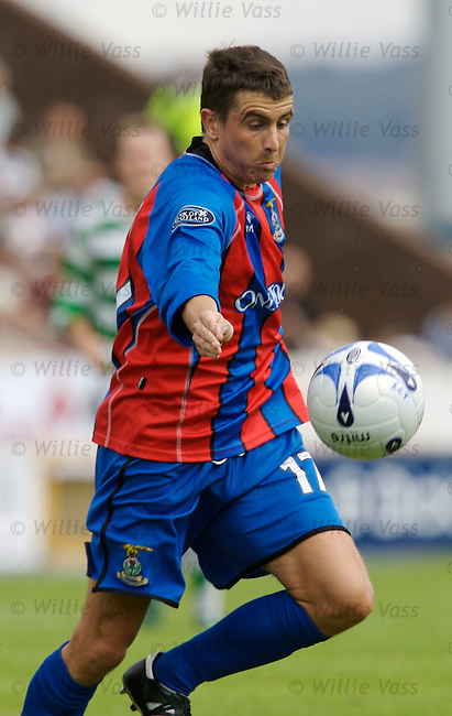 Craig Dargo, Inverness Caledonian Thistle.stock season 2006-2007.pic willie vass
