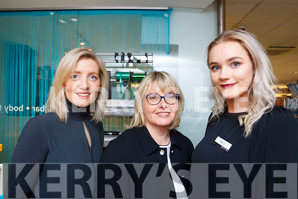 Sandra Rusk of Weardrobe Tralee & Killarney with Clare Harty and Grace Canavan of CH Chemists at the fashion show in CH on Friday eveing last.