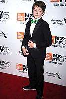 Oakes Fegley bei der Premiere von 'Wonderstruck' auf dem 55. New York Film Festival in der Alice Tully Hall. New York, 07.10.2017
