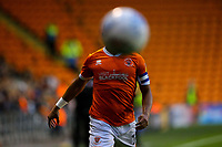 Blackpool's Liam Feeney in action<br /> <br /> Photographer Alex Dodd/CameraSport<br /> <br /> EFL Leasing.com Trophy - Northern Section - Group G - Blackpool v Morecambe - Tuesday 3rd September 2019 - Bloomfield Road - Blackpool<br />  <br /> World Copyright © 2018 CameraSport. All rights reserved. 43 Linden Ave. Countesthorpe. Leicester. England. LE8 5PG - Tel: +44 (0) 116 277 4147 - admin@camerasport.com - www.camerasport.com