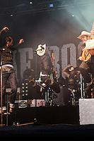 The Boss Hoss Deichbrand Festival 2011 in Cuxhaven.