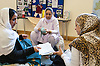 Asian women in a community centre