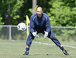 Kasey Keller on Saturday, May 20th, 2006 at SAS Soccer Park in Cary, North Carolina. The United States Men's National Soccer Team held a training session as part of their preparations for the upcoming 2006 FIFA World Cup Finals being held in Germany.