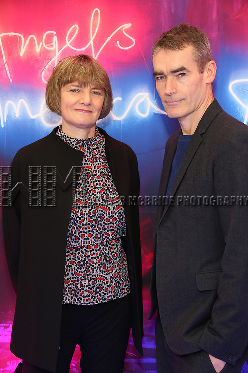 "Rufus Norris attends the Broadway Opening Night Arrivals for ""Angels In America"" - Part One and Part Two at the Neil Simon Theatre on March 25, 2018 in New York City."