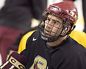 Anthony Aiello - Boston College's morning skate on Saturday, December 31, 2005 at Magness Arena in Denver, Colorado.  Boston College defeated Princeton that night to win the Denver Cup.
