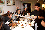 New York, NY - December 4, 2017: Chef Esther Choi of MokBar presents Seoul Searching, a Korean take on international cuisines, at The James Beard House in Greenwich Village.<br /> <br /> CREDIT: Clay Williams for The James Beard Foundation.<br /> <br /> &copy; Clay Williams / claywilliamsphoto.com