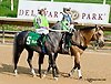In X Hess beforeThe Bob Magness Memorial Arabian Derby (gr 2) at Delaware Park on 9/2/13