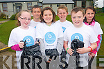 Pupils at Coolick National School undertook a clean-up to mark National Volunteer week. .Front L-R Megan O'Boyle, Roisin Chambers, Conor O'Leary. .Back L-R Paul O'Shea, Cian O'Mahony and Grace Foley.