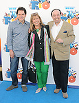 Carlos Saldanha and Sergio Mendes w/wife at The Twentieth Century Fox Voice Presentation of RIO held at The Zanuck Theatre on Twentieth Century Fox Lot in Los Angeles, California on January 28,2011                                                                               © 2010 DVS/Hollywood Press Agency