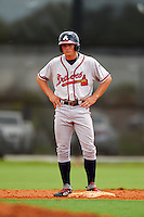 GCL Braves outfielder Bradley Keller (26) during a game against the GCL Astros on July 23, 2015 at the Osceola County Stadium Complex in Kissimmee, Florida.  GCL Braves defeated GCL Astros 4-2.  (Mike Janes/Four Seam Images)